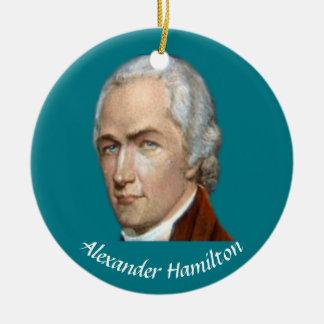 Hamilton-Weihnachtsverzierung Rundes Keramik Ornament