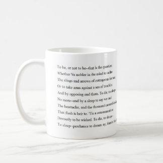 HamletSoliloquy Kaffeetasse