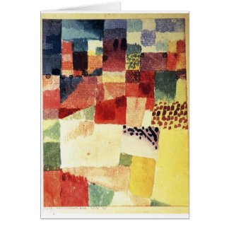 Hammamet durch Paul Klee Karte