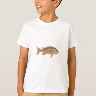 Hammelfleisch-Rotbarsch-Illustration T-Shirt