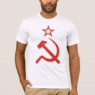 Hammer-, Sichel-und Stern-sowjetisches Logo für T-Shirt