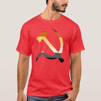 Hammer und Sichel-Bärn-Stolz-Flaggen-Farben T-Shirt