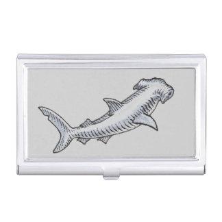 Hammerhai-Haifisch Visitenkarten-Schatullen