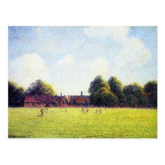 Hampton Court-Grün, London durch Camille Pissarro Postkarte