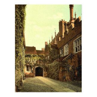 Hampton Court-Palastzugang, -london und -vororte, Postkarte