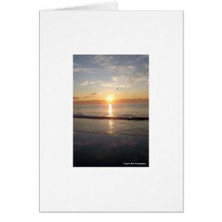 Hampton-Strand am Sonnenaufgang Karte