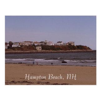 Hampton-Strand, NH Postkarte