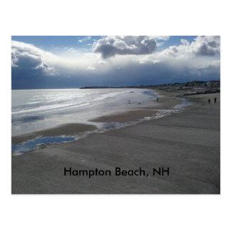 Hampton-Strand Postkarte