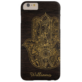 HAMSA Hand des Fatima-Symbolamulettentwurfs Barely There iPhone 6 Plus Hülle