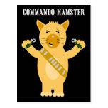 Hamster de commando cartes postales