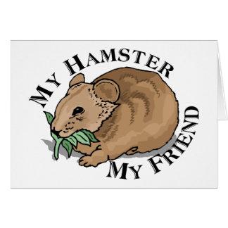 Hamster-Freund Karte