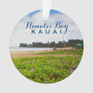 Hanalei Bucht, Foto Kauais Hawaii 2 Ornament
