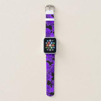 Hanalei hawaiische Hibiskus-Camouflage-Mit Apple Watch Armband