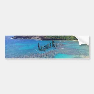 Hanauma Bucht Hawaii Autoaufkleber
