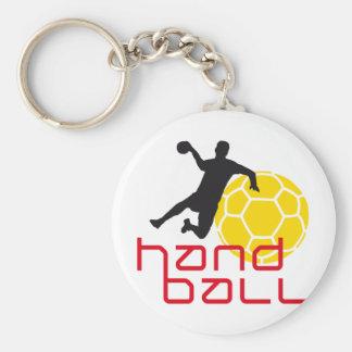 Handball I 3c Standard Runder Schlüsselanhänger