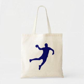 Handball-Silhouette Tragetasche