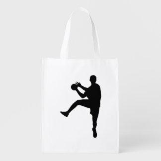 Handball Wiederverwendbare Einkaufstasche