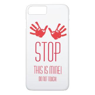 Handdrucke - HALT! Dieses ist meins! iPhone 8 Plus/7 Plus Hülle
