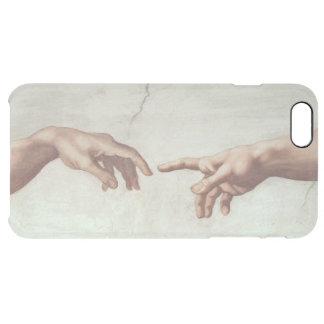 Hände des Gottes und des Adams Durchsichtige iPhone 6 Plus Hülle