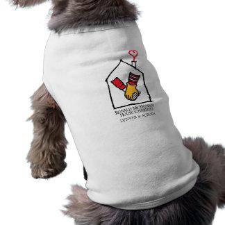 Hände Ronald McDonald Ärmelfreies Hunde-Shirt