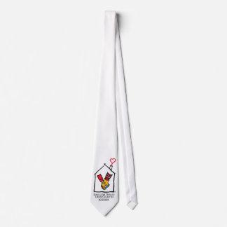 Hände Ronald McDonald Bedruckte Krawatte