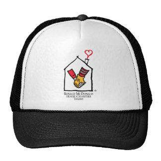 Hände Ronald McDonald Caps
