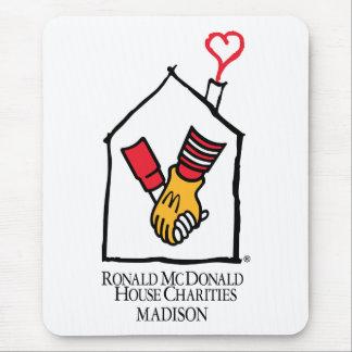 Hände Ronald McDonald Mousepads