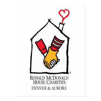 Hände Ronald McDonald Postkarten