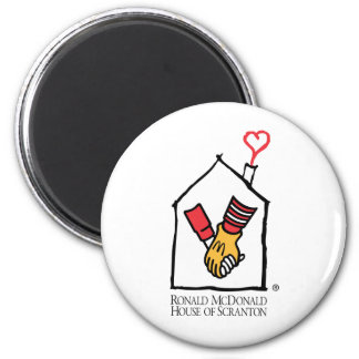 Hände Ronald McDonald Runder Magnet 5,7 Cm