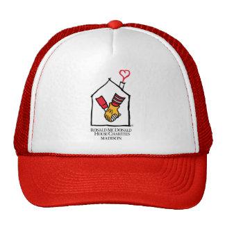 Hände Ronald McDonald Trucker Kappe