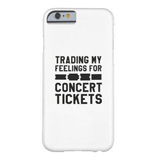 Handel meiner Gefühle für Konzert-Karten Barely There iPhone 6 Hülle