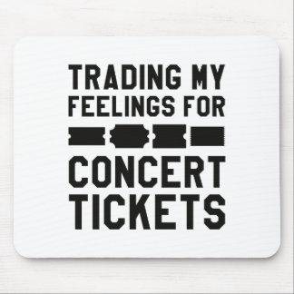Handel meiner Gefühle für Konzert-Karten Mousepad