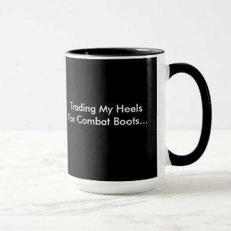 Handel meines Heelses für Kampf-Stiefel-Tasse Tasse