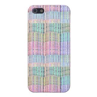 Handgemachtes Gewebe-Entwurfs-Muster - Hintergrund iPhone 5 Schutzhülle