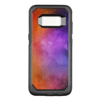 Handgemalte Aquarellbeschaffenheiten OtterBox Commuter Samsung Galaxy S8 Hülle