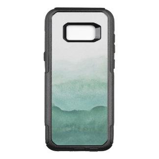 Handgemalte Aquarellbeschaffenheiten OtterBox Commuter Samsung Galaxy S8+ Hülle