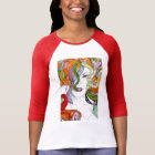 Handgemalte griechische Mythologie der Medusa T-Shirt