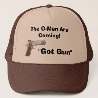 """handgunz, """"erhielt Gewehr"""", das Omen kommen! Truckerkappe"""