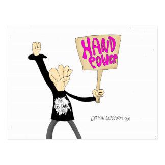 HandPower Postkarte