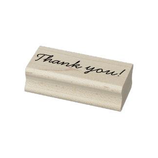 Handschrift danken Ihnen Gummistempel