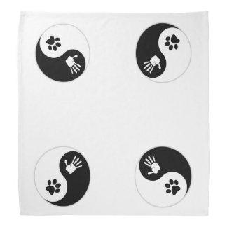 HandToPaw Bandana (für Haustiere oder Leute) Kopftuch