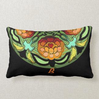 Handwerker-Garten in den Herbst-Farben - mit Lendenkissen