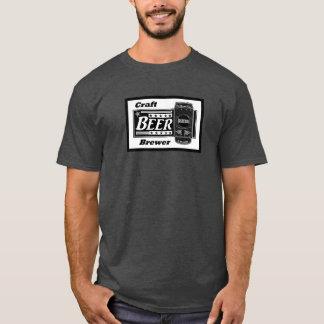 Handwerks-Bier-Brauer - Schwarz-u. T-Shirt