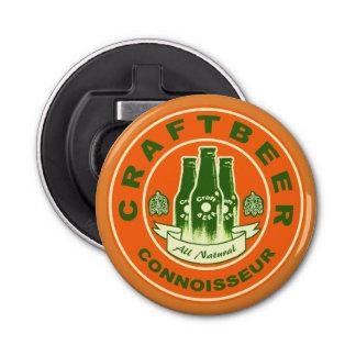 Handwerks-Bier-Kenner - orange Grün 2 Flaschenöffner