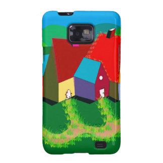 Handy-Fall mit Volkskunst Samsung Galaxy SII Cover