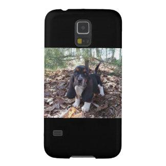 Handyfall Bassetwelpe Galaxy S5 Hülle