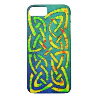 Handyhülle, Celtic, keltischer Knoten, bunt iPhone 8/7 Hülle