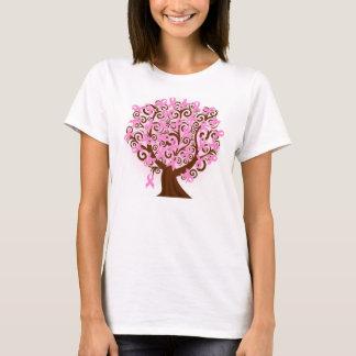 Hanes Brustkrebsbaum der Hoffnung T-Shirt