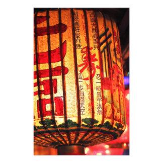 Hängende chinesische Laterne Druckpapier