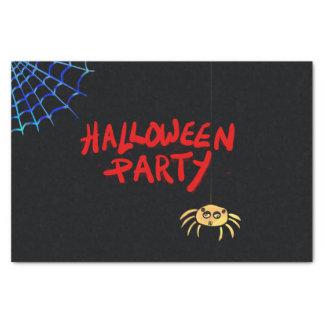 Hängende Spinne Halloween Seidenpapier